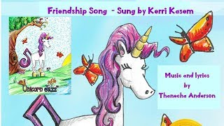 Children's Unicorn best Books - Bee-ing Happy With Unicorn Jazz Friendship Song Book with Song