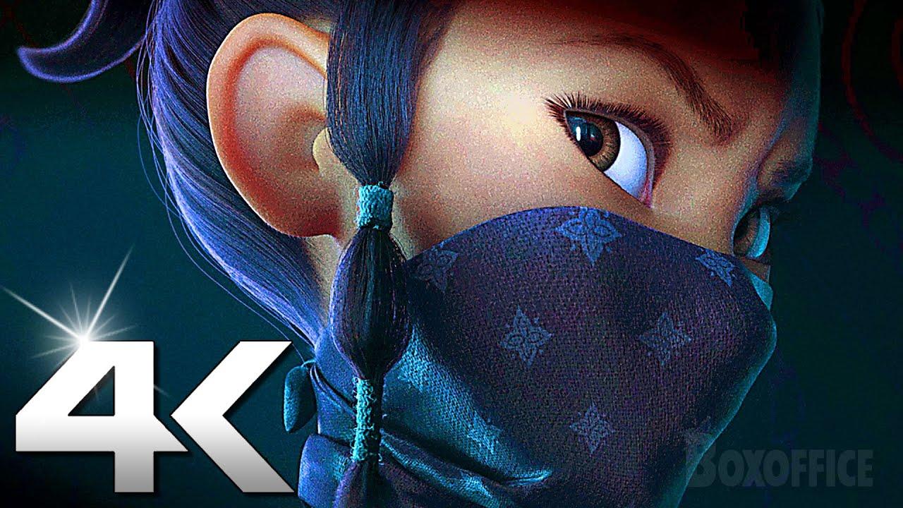 RAYA Official Trailer 4K (2021) Raya And The Last Dragon Ultra HD