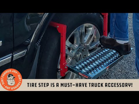 Tire Step is a Must-have Truck Accessory!