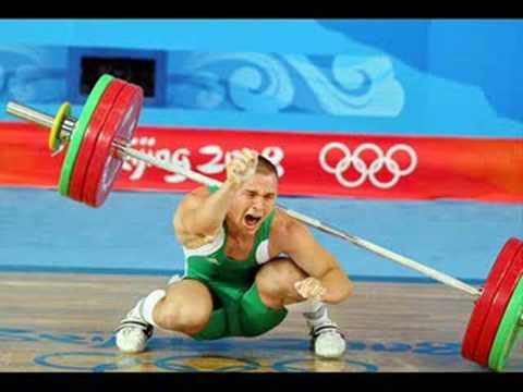 Weightlifting accident - Beijing 2008