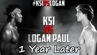 KSI vs Logan Paul - 1 Year Later