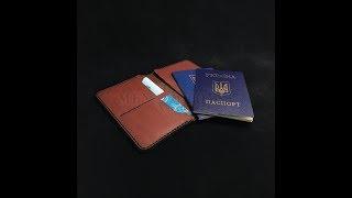 Обзор  от компании mentoys.com.ua кожаной обложки для документов