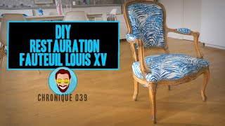 restaurer un fauteuil louis xv chronique 039