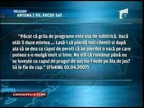 RDI-SAT citat la Antena 1 , Antena 3 si Antena International