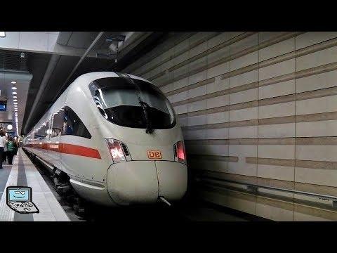 [City-Tunnel Leipzig] Hauptbahnhof mit InterCityExpress und S-Bahn Mitteldeutschland