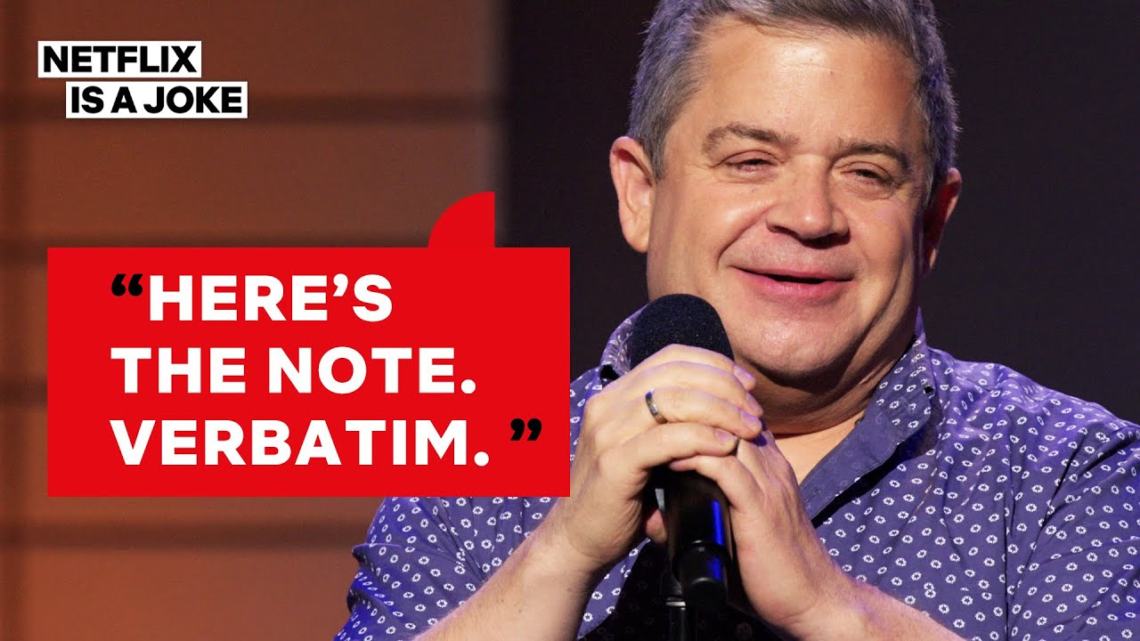 Patton Oswalt's Wife Ended a Fight with a Terrifying Note | Netflix Is A Joke