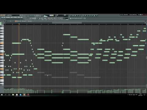 Fl Studio: Emotional piano melody (Free FLP Download)