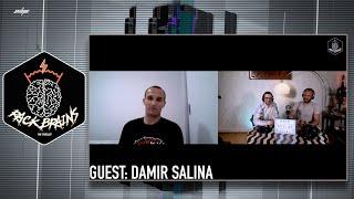Rack Brains - The Podcast For Bjj \u0026 Health #004 | Damir Salina
