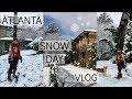Snow Day in Atlanta Vlog || December 2017