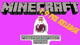 Minecraft: How To Make ALL Potions (1.9 Pre-Release 3)