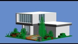 Как сделать дом из лего