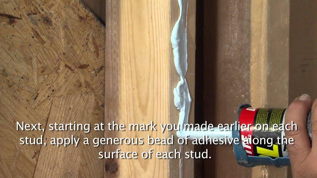 Lyons Shower Wall Installation - YouTube