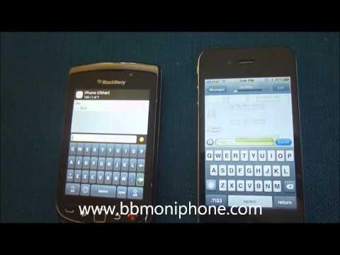 BlackBerry Messenger On IPhone