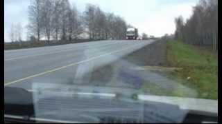 Ловушка на М7 Чувашия  11 2012