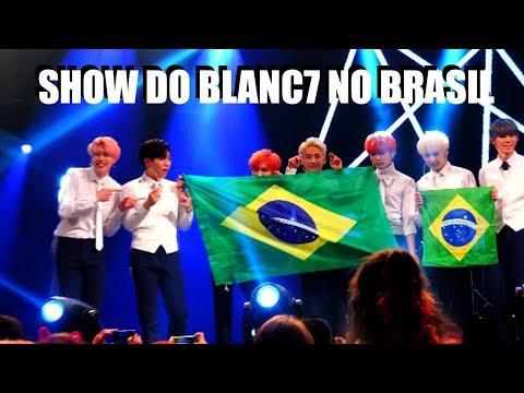SHOW DO BLANC7 NO BRASIL