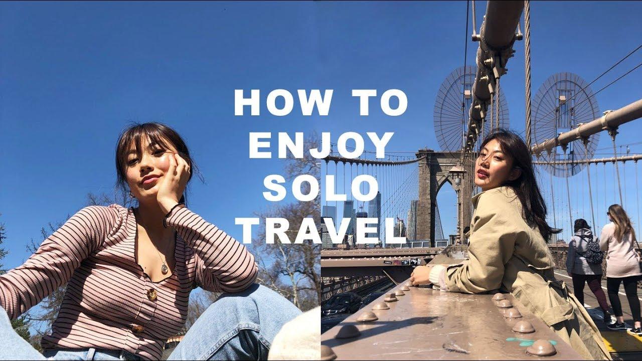 NEW YORK SOLO TRIP - How to enjoy solo travel   Haley Kim