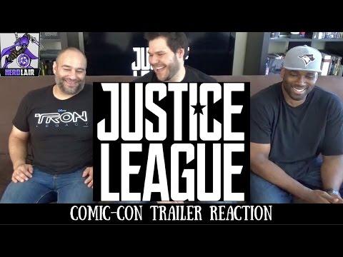 Justice League Comic Con Trailer REACTION