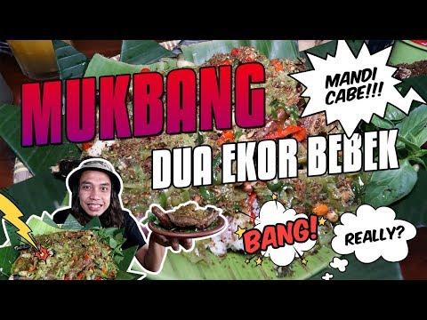 Mukbang! 2 Ekor Bebek Mandi Cabe Madura