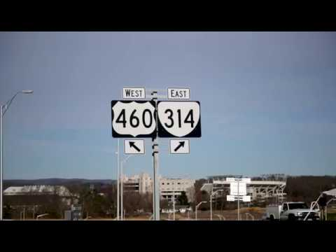 VDOT's Diverging Diamond Interchange opens on Route 460 onto Southgate Drive