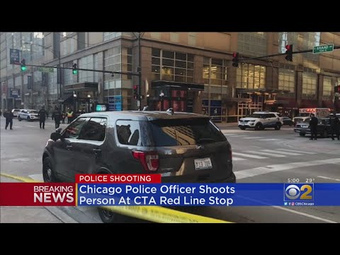 Police-Involved Shooting At Grand Station On CTA Red Line