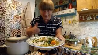 ROSÓŁ Z MAKARONEM - Gotuj z Gracjanem