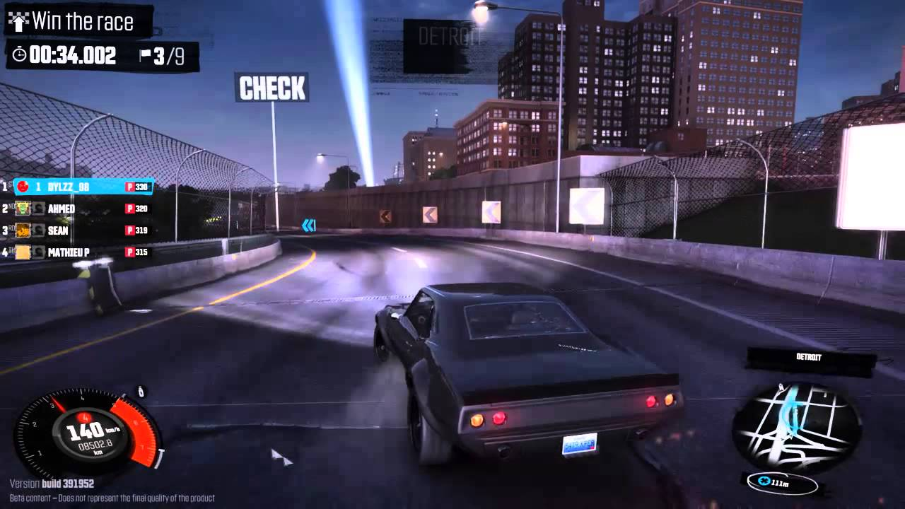 THE CREW PS4 GAMEPLAY 1080P