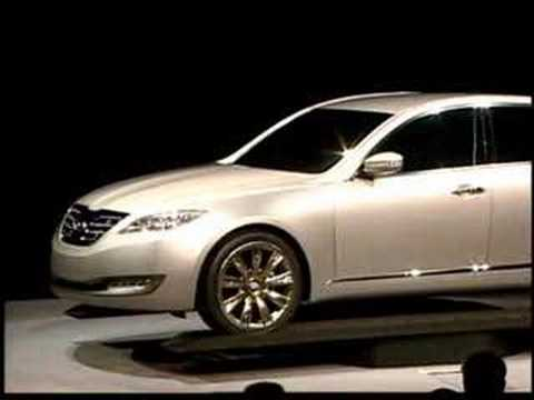 2007 Ny Auto Show Hyundai Reveals Concept Genesis Sedan Youtube