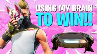 Using my brain to WIN!! (w/ Steve Kardynal) - Fortnite Battle Royale Gameplay - Disturb Reality