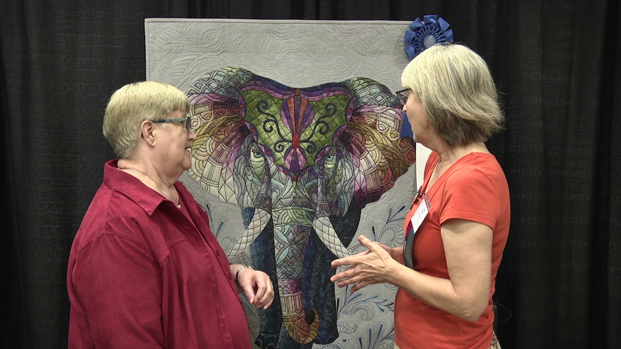 Lise Belanger Wins Gammill Best Wall Quilt Award at AQS QuiltWeek ... : david taylor quilt - Adamdwight.com