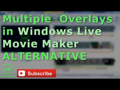 Can You Add MULTIPLE Overlays in Windows Live Movie Maker?