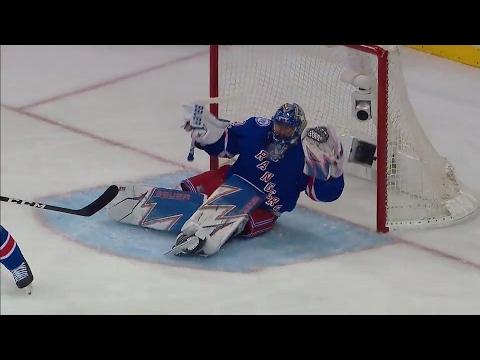 Gotta See It: Lundqvist robs Karlsson with desperation save while sitting