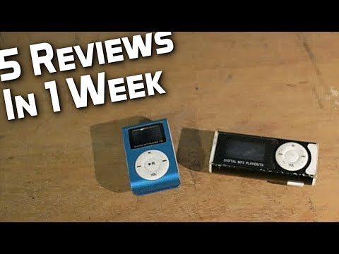 Cheap MP3 Players - Review Week #3