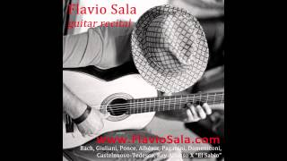 (PONCE) - ALLEMANDA Suite in old style - Flavio Sala, Guitar