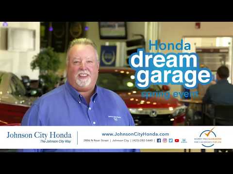 Honda Dream Garage going on now at Johnson City Honda!