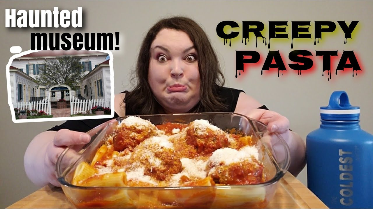 GIANT AUTHENTIC ITALIAN MEATBALL PASTA RECIPE AND MUKBANG