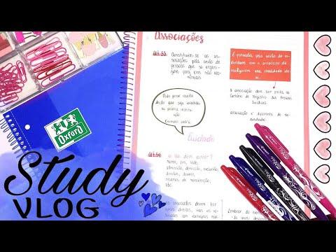 Study Vlog | meus resumos e muita produtividade