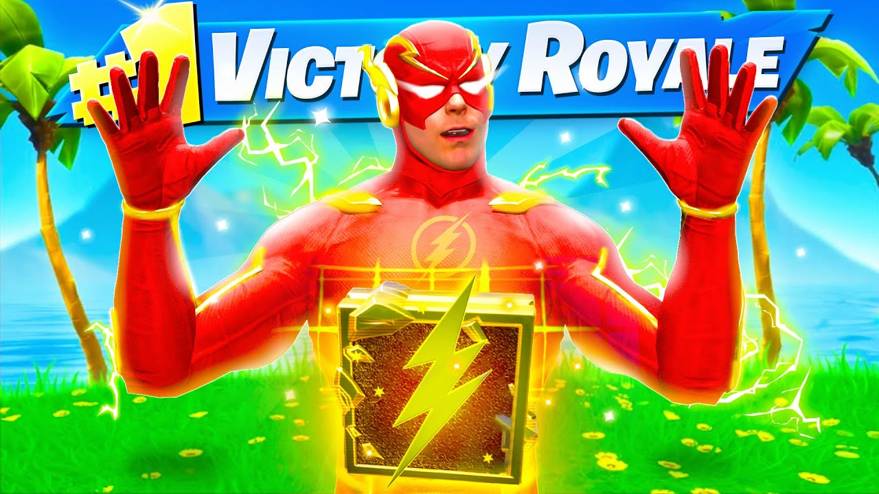 The FLASH BOSS MYTHIC Challenge in Fortnite
