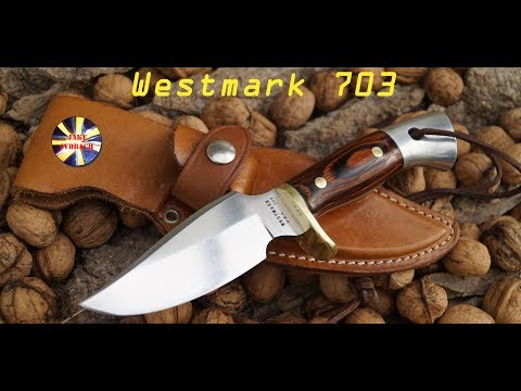 Western Knife Company WESTMARK 703 Vintage USA Knives Hunting Bowie Jagdmesser Custom Quality Old