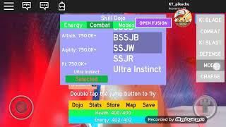 Giochiamo Roblox-drago palla scoppio-come impilare kaioken