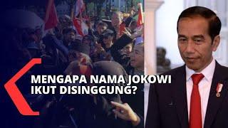 Nama Jokowi Dibawa-bawa dalam Demo Anies, Dewi Tanjung akan Polisikan Pelaku Yang Singgung Presiden