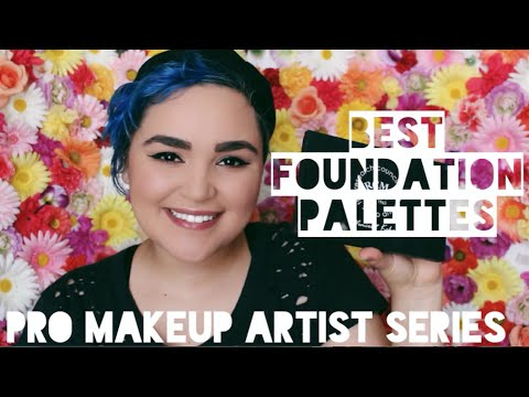 BEST FOUNDATION PALETTES // PRO MAKEUP ARTISTS