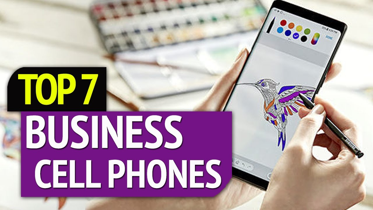 BEST BUSINESS CELL PHONES! (2020) - YouTube
