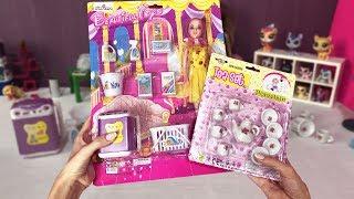 Barbie Bebek Evi Eşyaları Açıyoruz. Yeni Oyuncak Setleri Mutfak ve Banyo Dila Kent