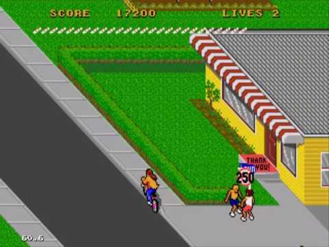 Paperboy 2 Easy Street Gameplay Sega Genesis