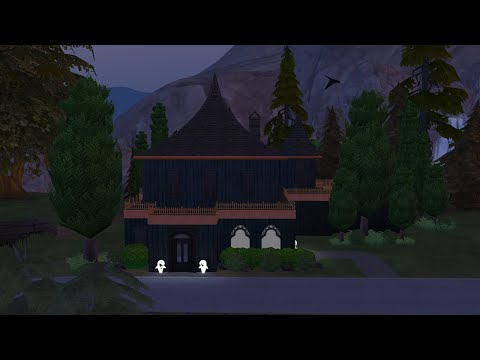 Haunted House: Spooky Stuff Pack- Sims 4 Speed Build |