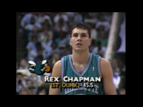 Rex Chapman - 1990 NBA Slam Dunk Contest (Rookie Year)