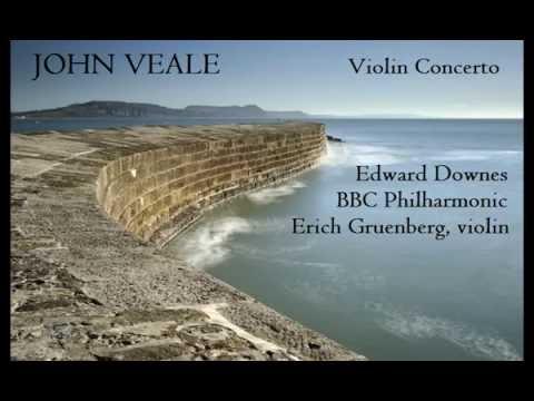 John Veale: Violin Concerto [Downes-BBC PO-Gruenberg] premiere