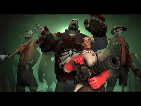 TF2-Beating MvM Wave 666 as Medic