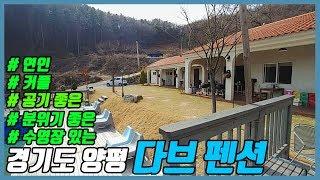 경기도 양평 펜션여행 추천 다브펜션! 바베큐 먹방 수영…