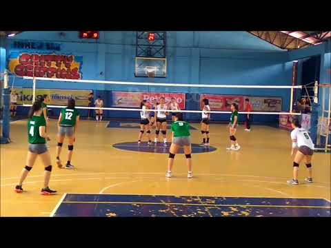 HOPE vs DLSZ (set 1) - Rebisco Volleyball League 2018